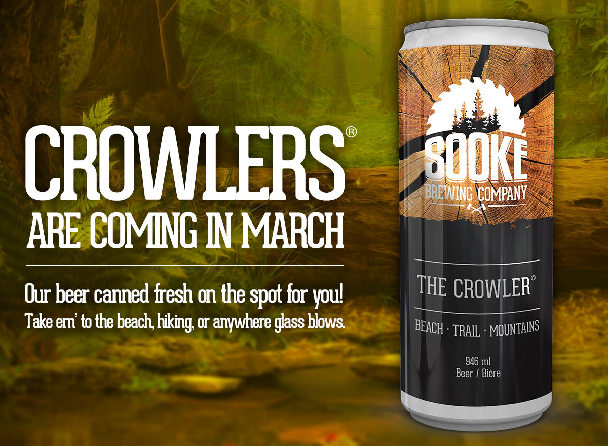 Sooke Brewing Crowlers