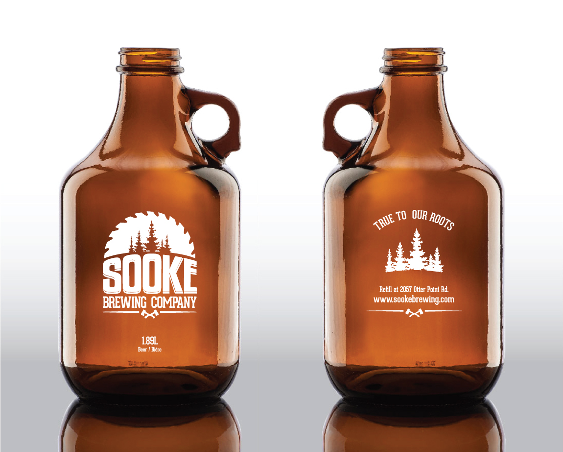 Sooke Brewing Co. Growler design